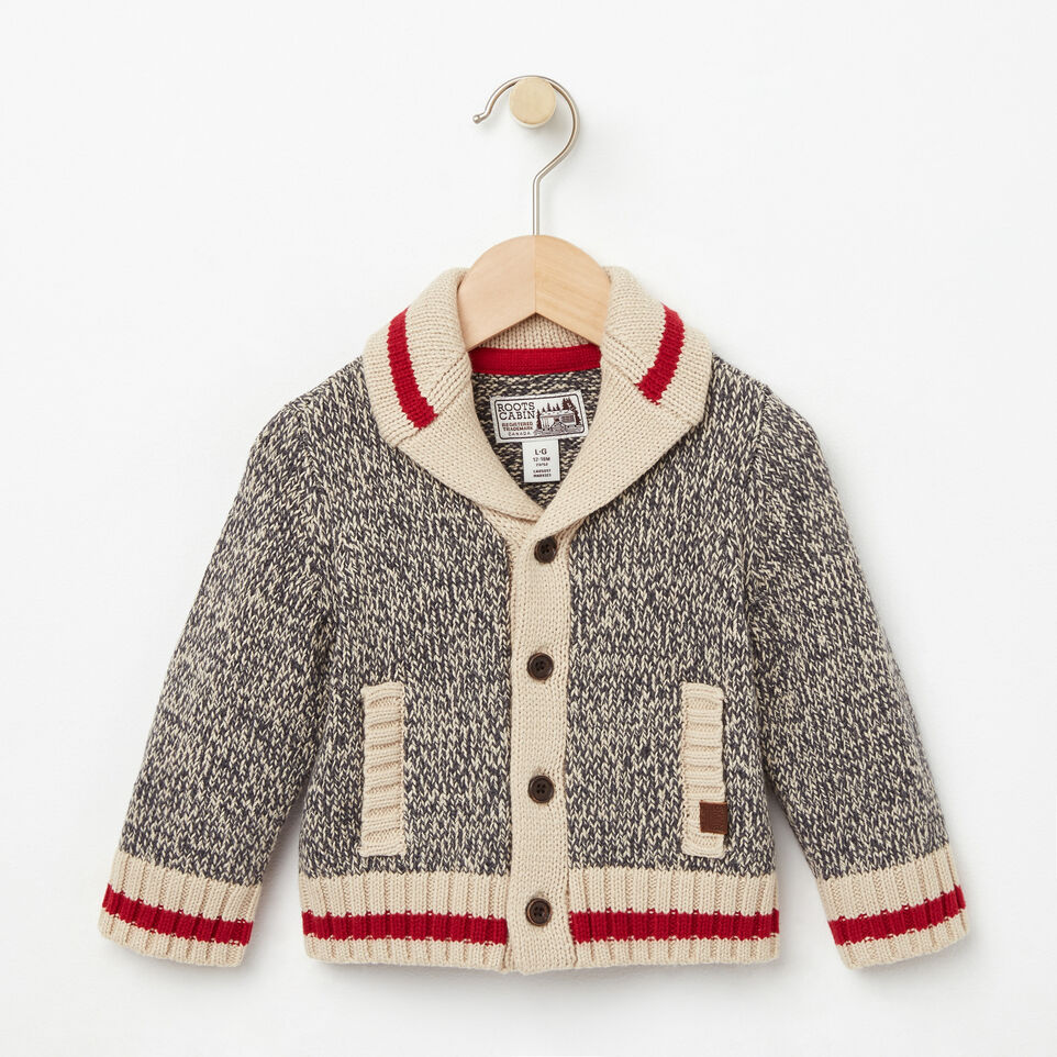 Roots-undefined-Baby Roots Cabin Shawl Cardigan-undefined-A