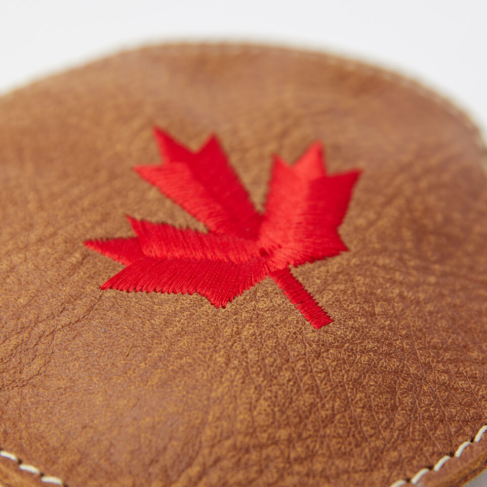 Roots-undefined-Maple Leaf Coin Pouch Tribe-undefined-C