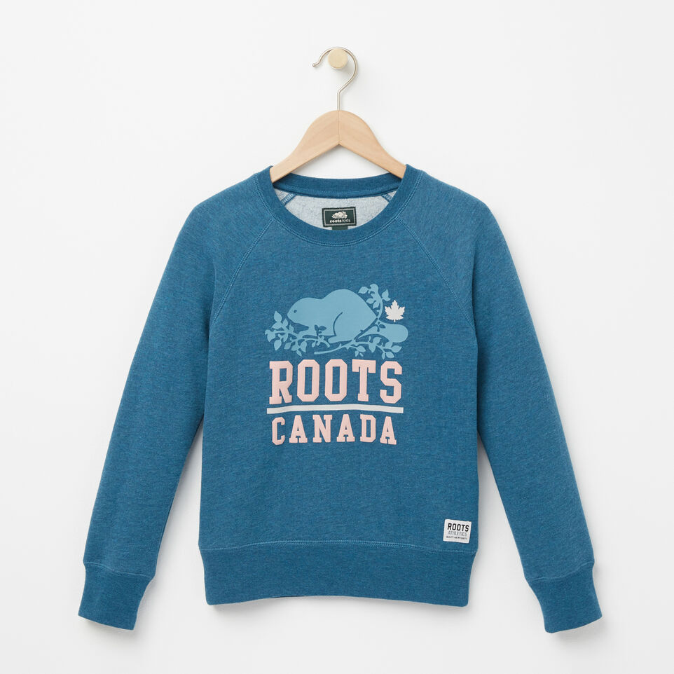 Roots-undefined-Filles Chandail Ras Du Cou Reina-undefined-A