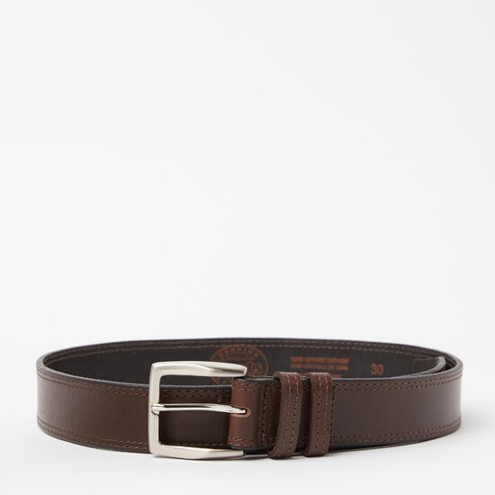 Roots-Men Belts-Oliver Belt-Brown-A