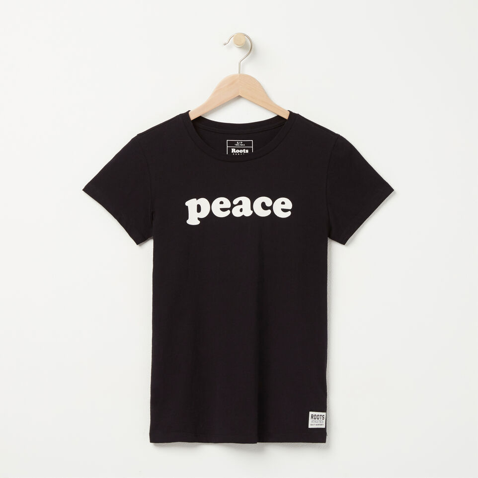 Roots-undefined-Peace T-shirt-undefined-A