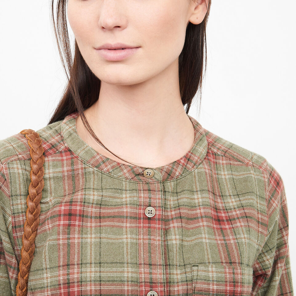 Roots-undefined-Tisdale Flannel Tunic-undefined-C