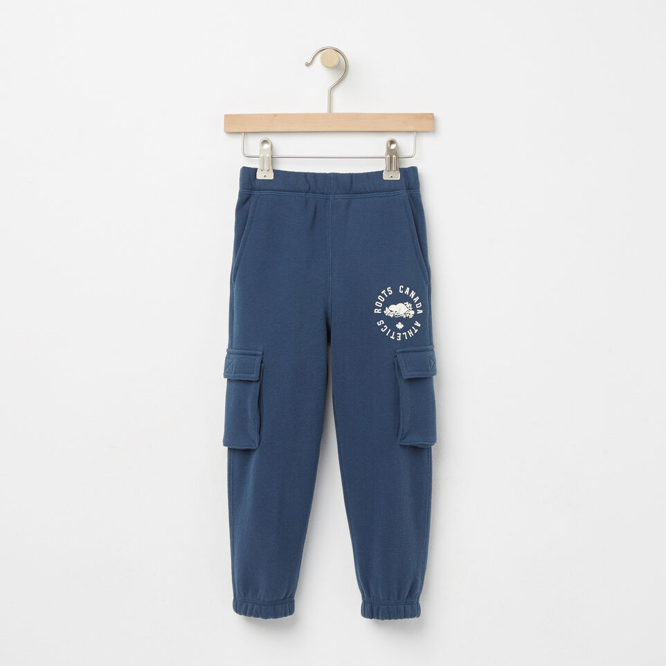 Roots-undefined-Toddler Brandon Cargo Sweatpant-undefined-A