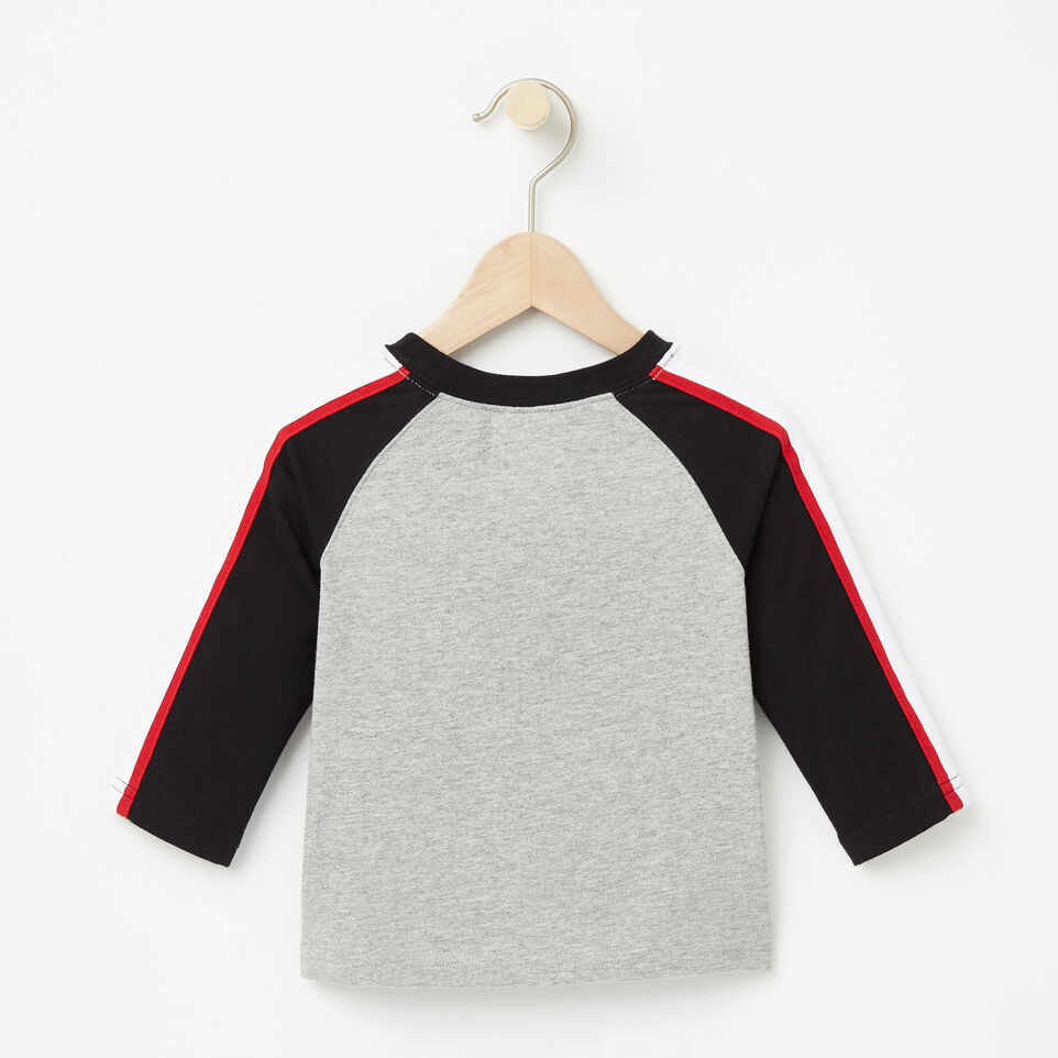 Roots-undefined-Baby Slater Baseball Top-undefined-B