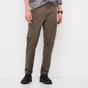 Roots-Men Pants-Utility Cargo Pant-Tarmac-A