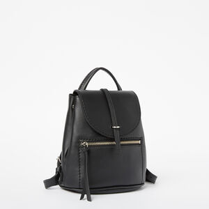 Roots-Leather Backpacks-Alex Anne Pack Box-Black-A