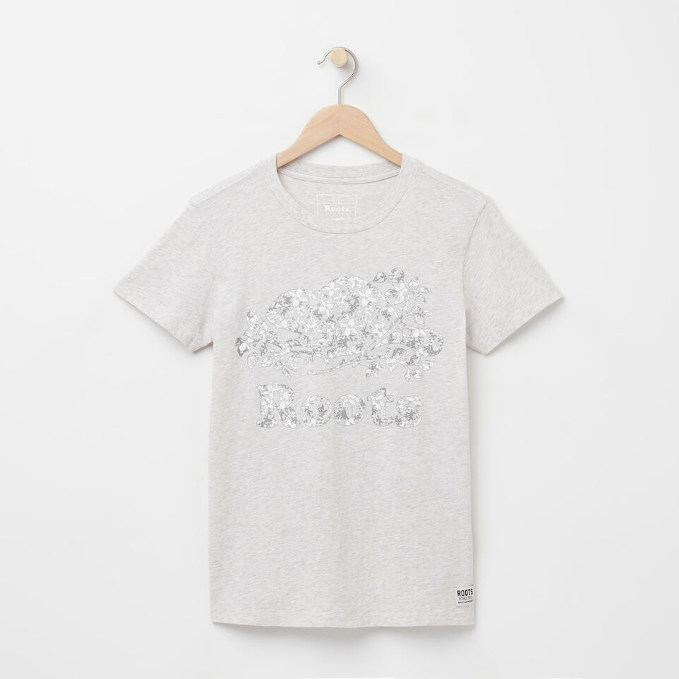 Roots-undefined-Floral Cooper T-shirt-undefined-A