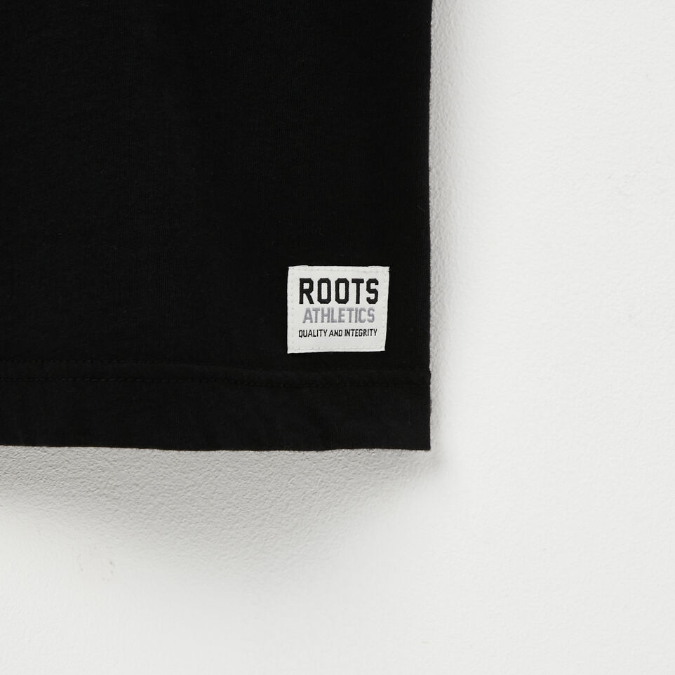 Roots-undefined-T shirt Poivré Castor-undefined-D