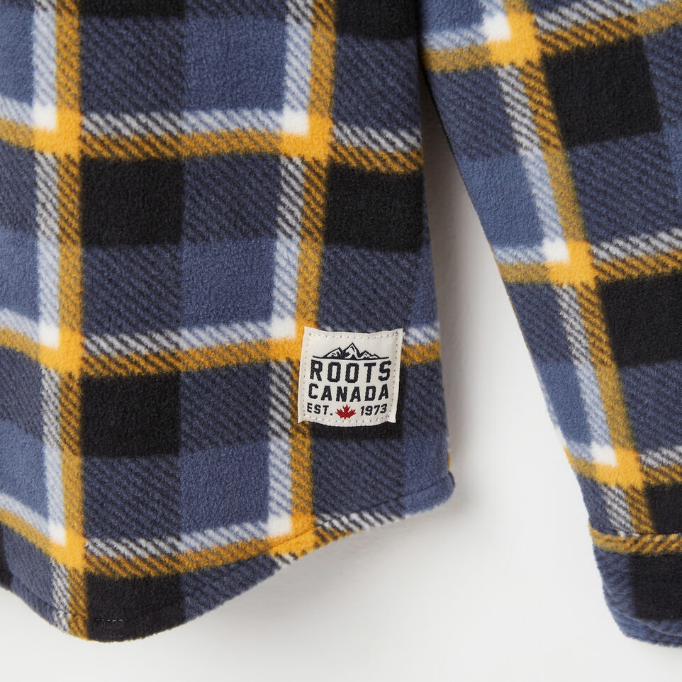 Roots-undefined-Boys Lake Point Microfleece Shirt-undefined-D