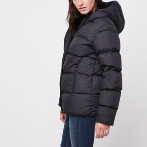 Roots-Sale Women's-Pathfinder Parka-Black-A