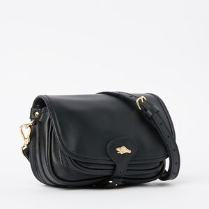 Roots-Leather Mini Leather Handbags-Kays Bag Box-Black-A