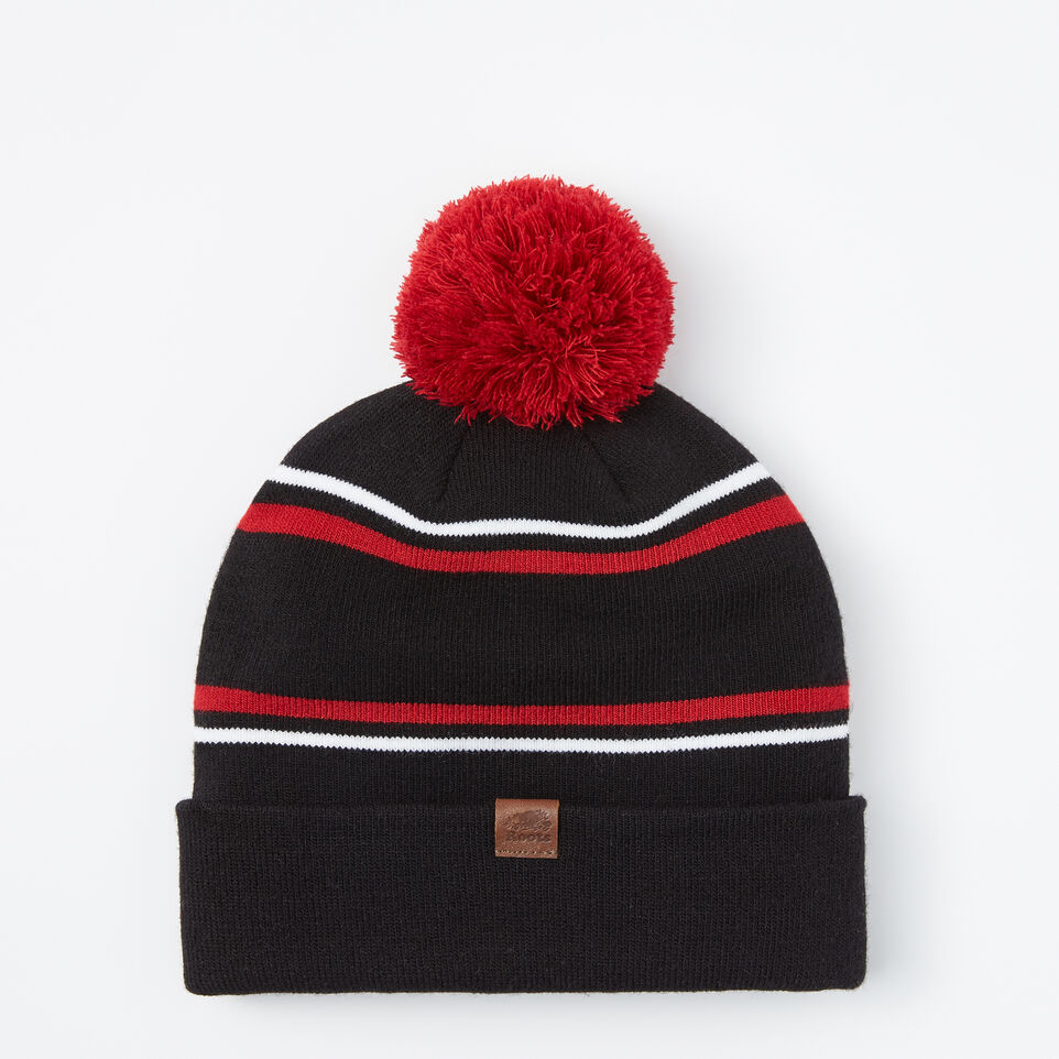 Roots-undefined-Pro Block Pom Pom Toque-undefined-C