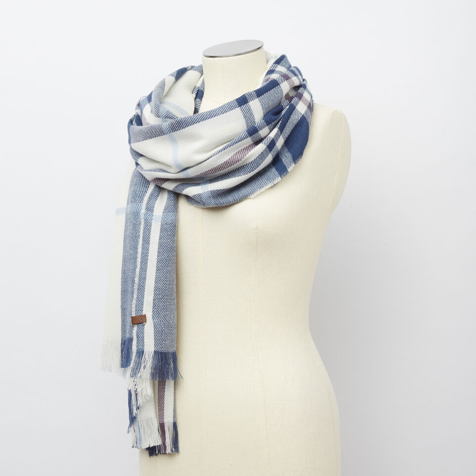 Roots-undefined-Labrador Plaid Scarf-undefined-B