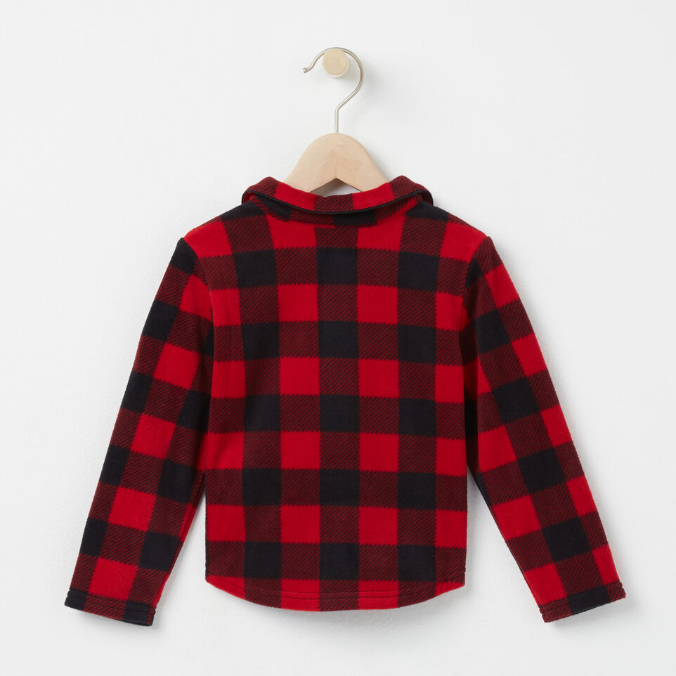 Roots-undefined-Toddler Roots Micro Fleece Button Up-undefined-D