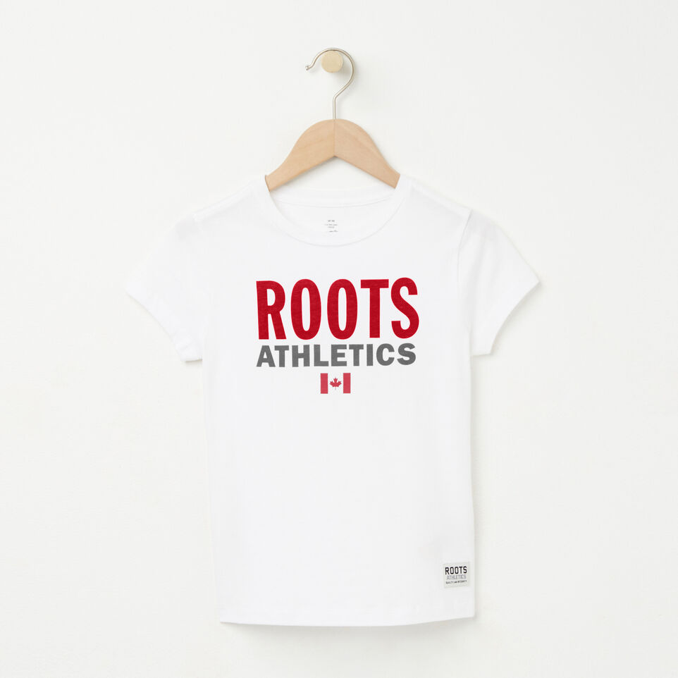 Roots-undefined-Girls Roots Re-issue T-shirt-undefined-A