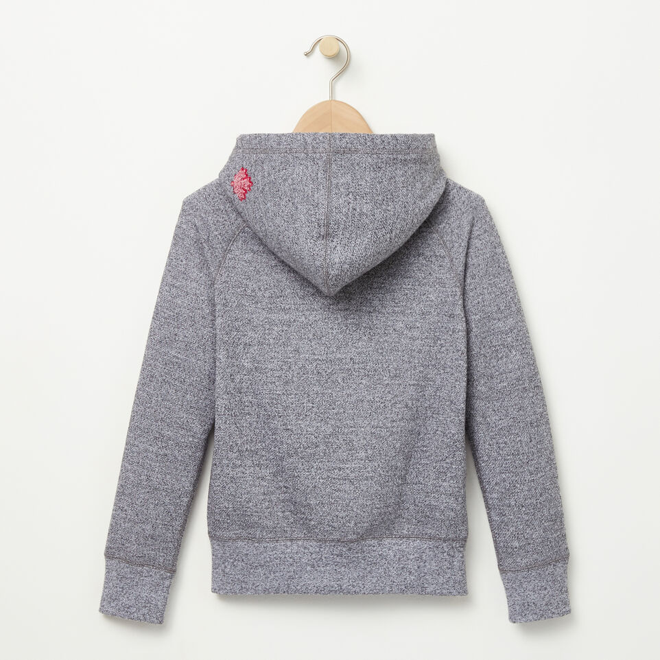 Roots-undefined-Girls Noelle Chenille Kanga Hoody-undefined-B