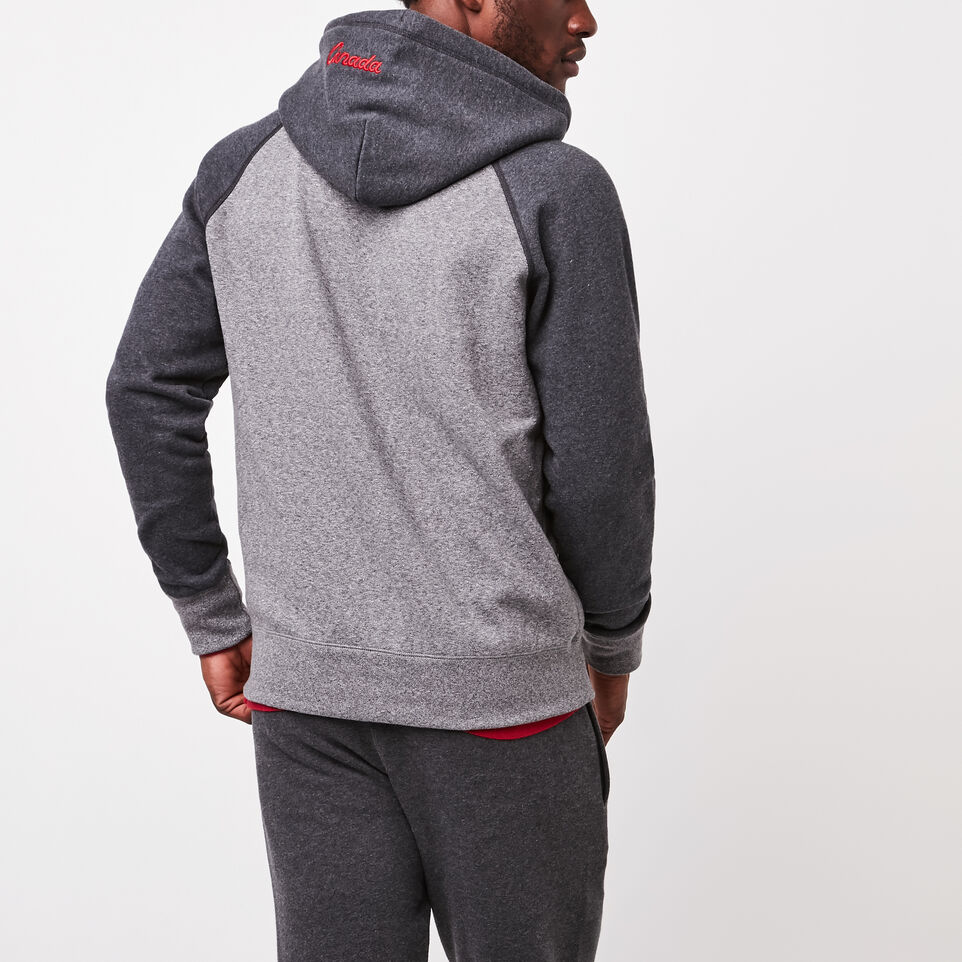 Roots-undefined-Heritage Full Zip Hoody-undefined-D