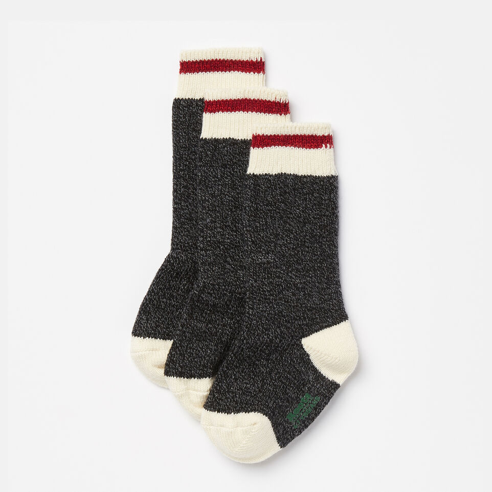 Roots-undefined-Kids Cabin Sock 3 Pack-undefined-A
