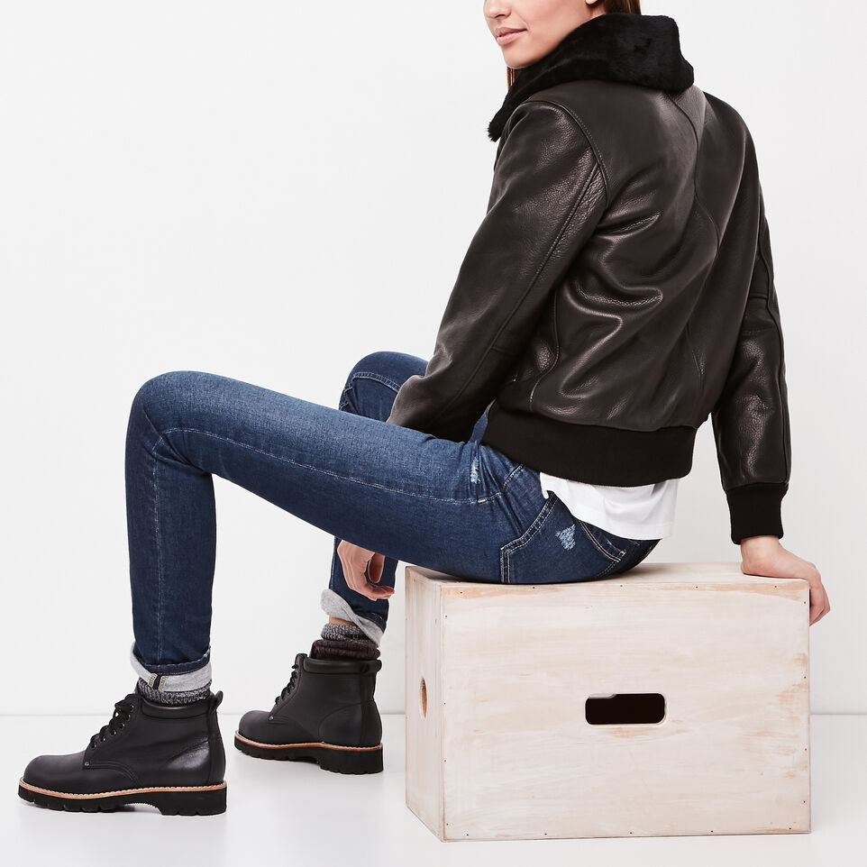 Roots-undefined-Manteaux Bomber Lamba pour Femmes-undefined-B