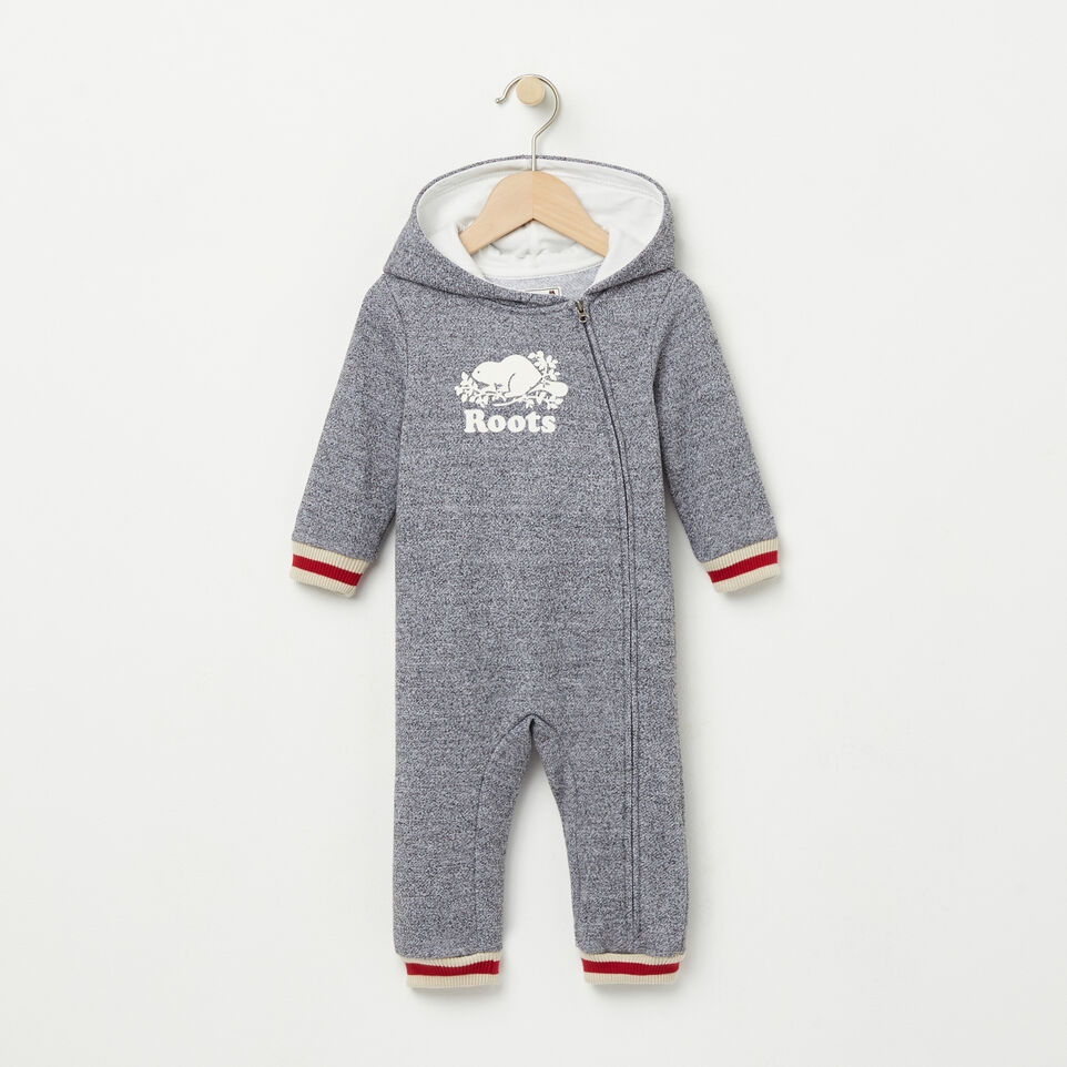 Roots-undefined-Baby Roots Cabin Hood Romper-undefined-A