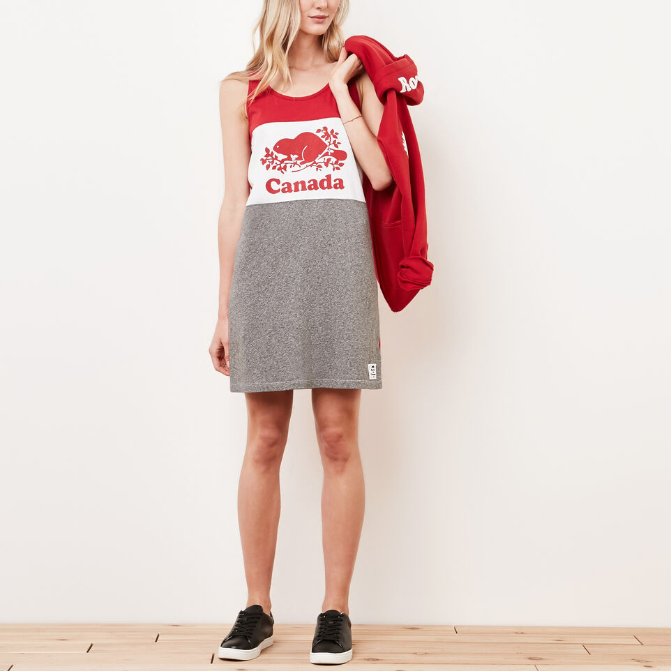 Roots-undefined-Cooper Canada Jersey Dress-undefined-A