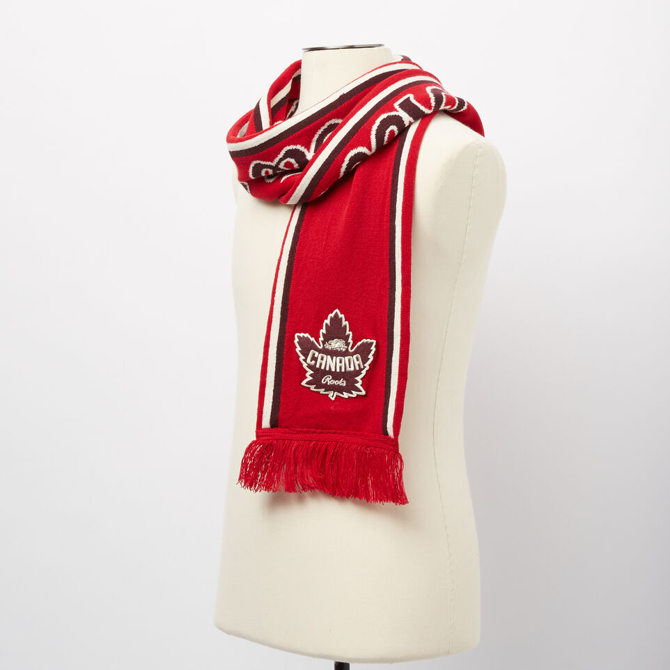 Roots-undefined-Canada Heritage Fan Scarf-undefined-B