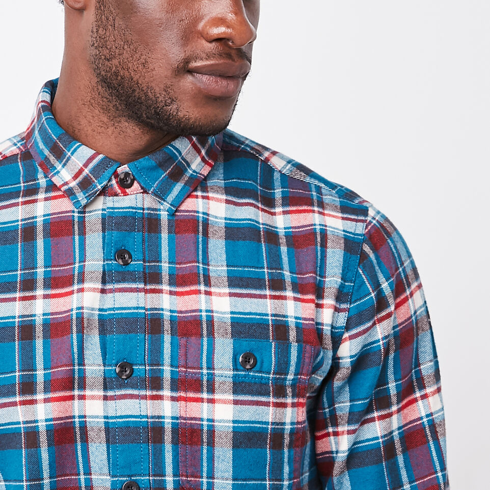 Roots-undefined-Daysland Flannel Shirt-undefined-C
