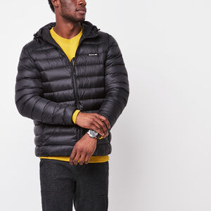 Roots-Men Jackets-Roots Packable Down Jacket-Black-A