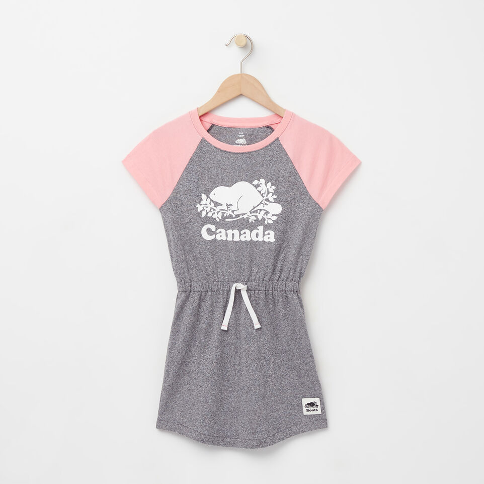 Roots-undefined-Girls Cooper Canada Raglan Dress-undefined-A