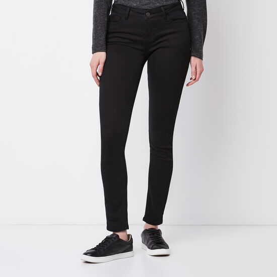 Roots-Women New Arrivals-Stretch Riley Pant-Black-A