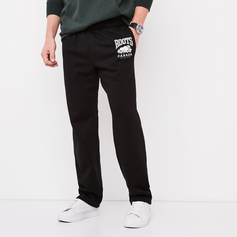 Roots-undefined-Classic Open Bottom Sweatpant-undefined-A