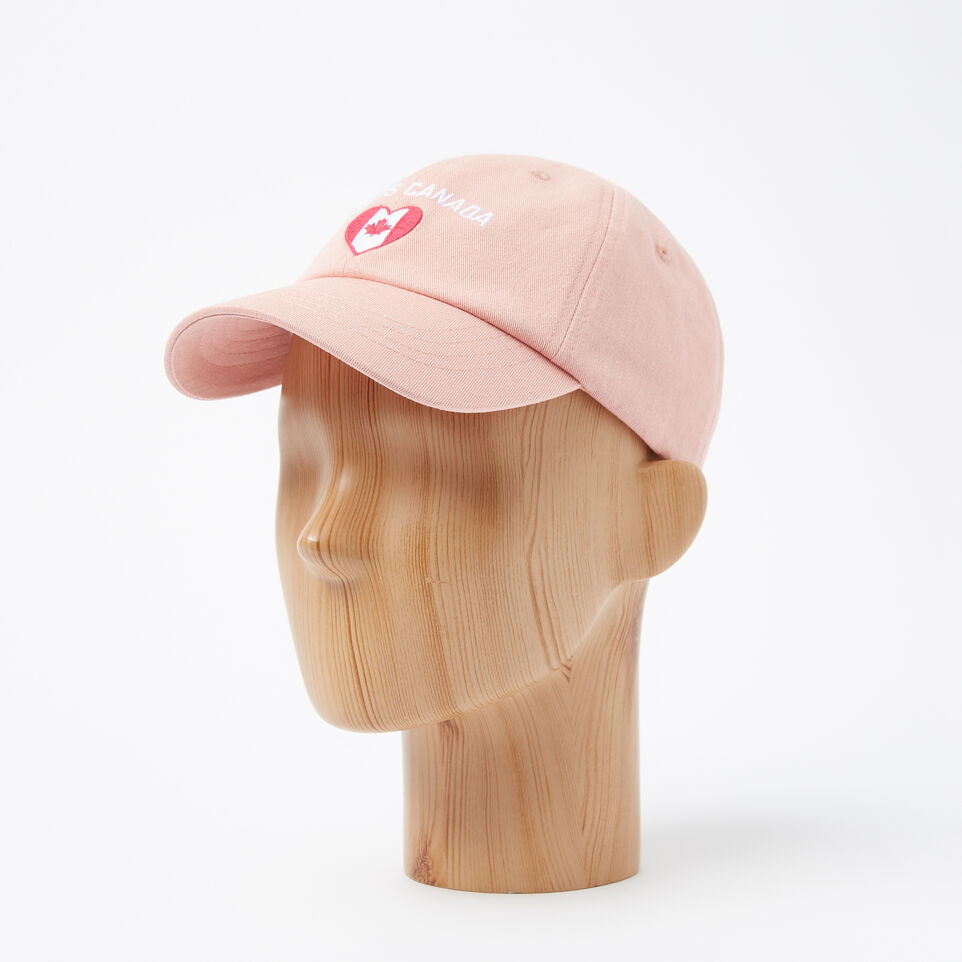 Roots-undefined-Girls Canadian Heart Baseball Cap-undefined-B