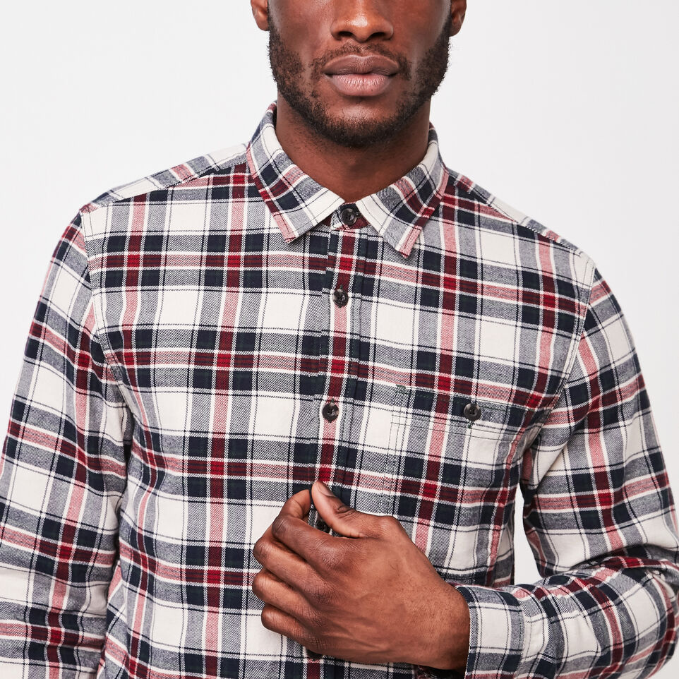 Roots-undefined-Burnaby Flannel Shirt-undefined-B