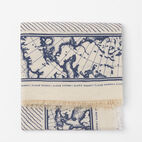 Roots-undefined-Marine Print Scarf-undefined-A