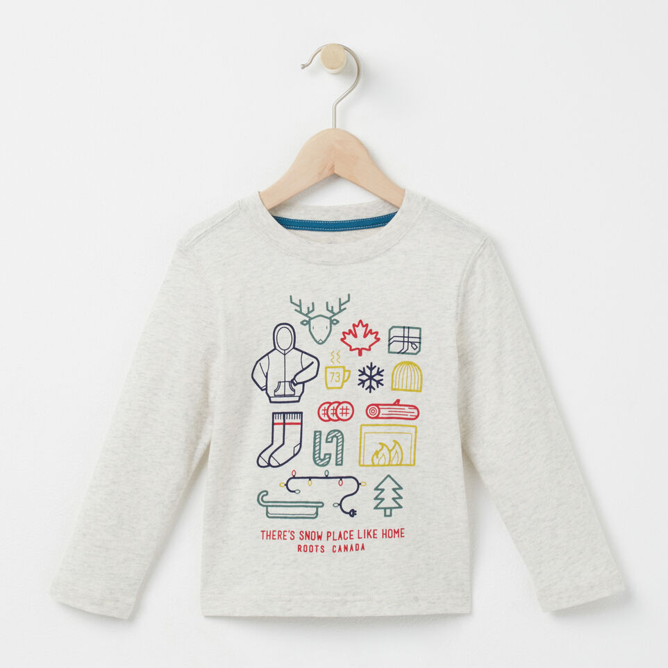 Roots-undefined-Toddler Snow Place Like Home T-shirt-undefined-A