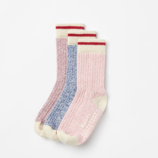 Toddler Cabin Sock 3 Pack