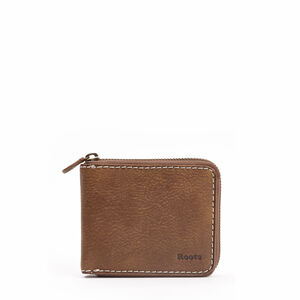 Roots-Leather Men's Wallets-Mens Zip Around Tribe-Africa-A