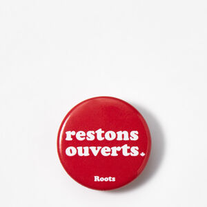 Roots-Men Roots Home-Bouton De Restons Ouverts-Sage Red-A