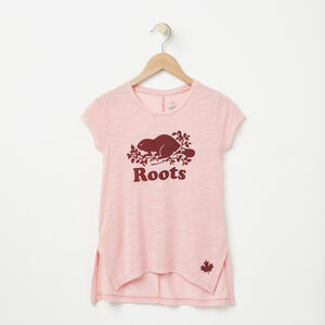 Roots-Sale Girls-Girls Gatineau Flow Top-Bridal Rose Mix-A