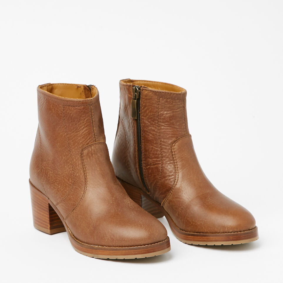 Roots-undefined-Italian Zip Bootie Tribe-undefined-B