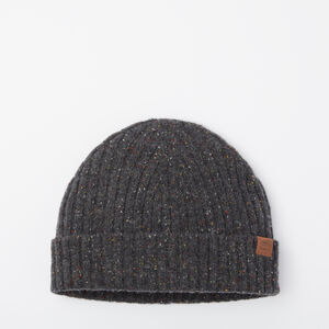 Roots-Gifts Bundle Up Accessories-Mens Donegal Toque-Charcoal Mix-A