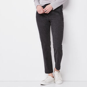 Roots-Sale Women-Canopy Tweed Pant-Black Mix-A