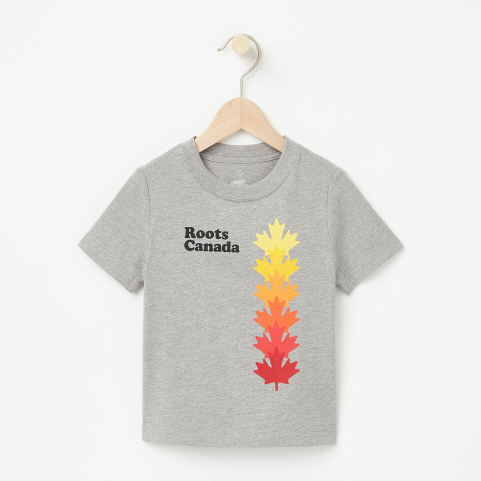 Roots-undefined-Toddler Roots Canada Leaf T-shirt-undefined-A