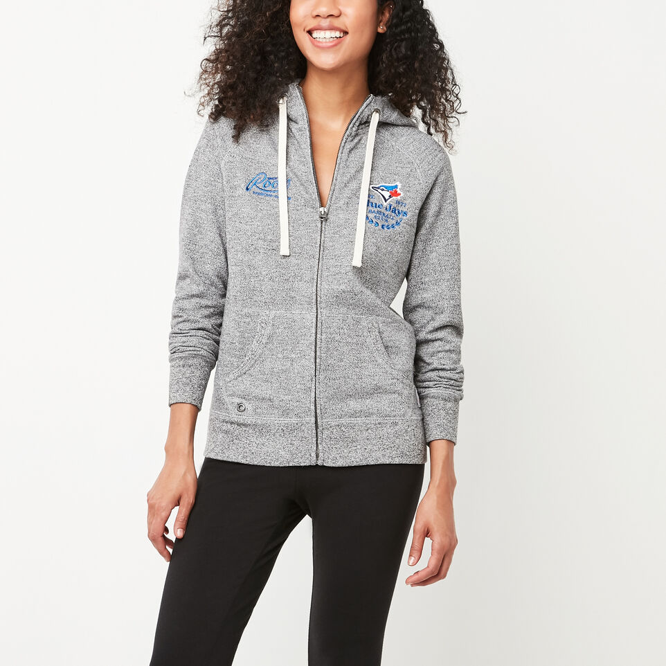 Roots-undefined-Womens Blue Jays Zip Hoody-undefined-A