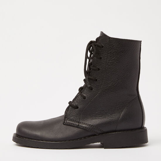Roots-Shoes Boots-Hi Top Tribe-Jet Black-A
