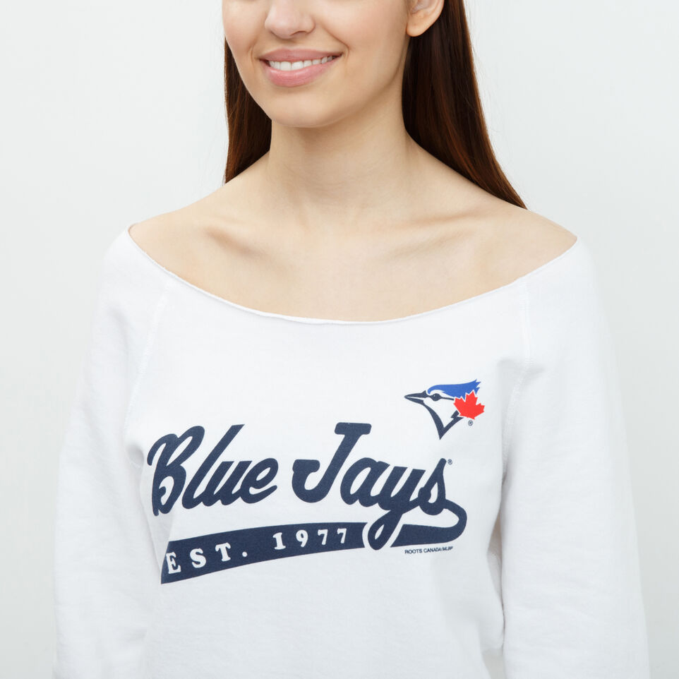 Roots-undefined-Blue Jays Wide Neck Crew-undefined-A