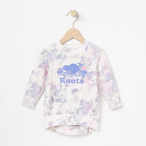 Roots-Kids Bestsellers-Baby Watercolour Tunic-Cloudy White-A