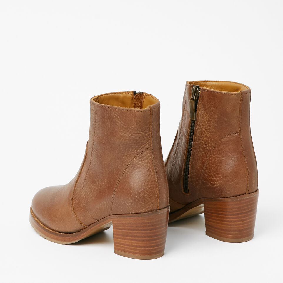 Roots-undefined-Italian Zip Bootie Tribe-undefined-C
