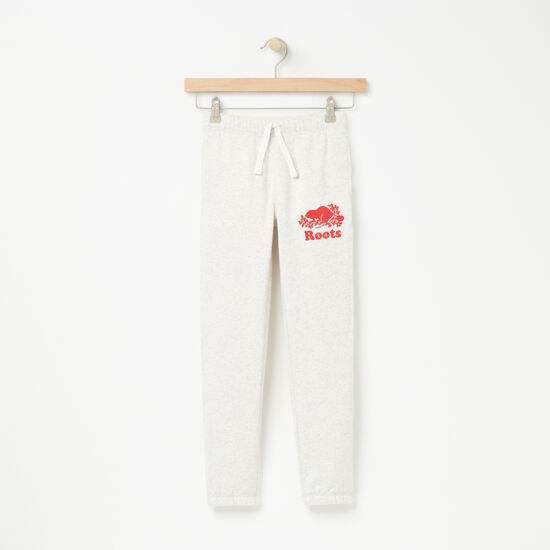 Girls Love Roots Canada Slim Sweatpant