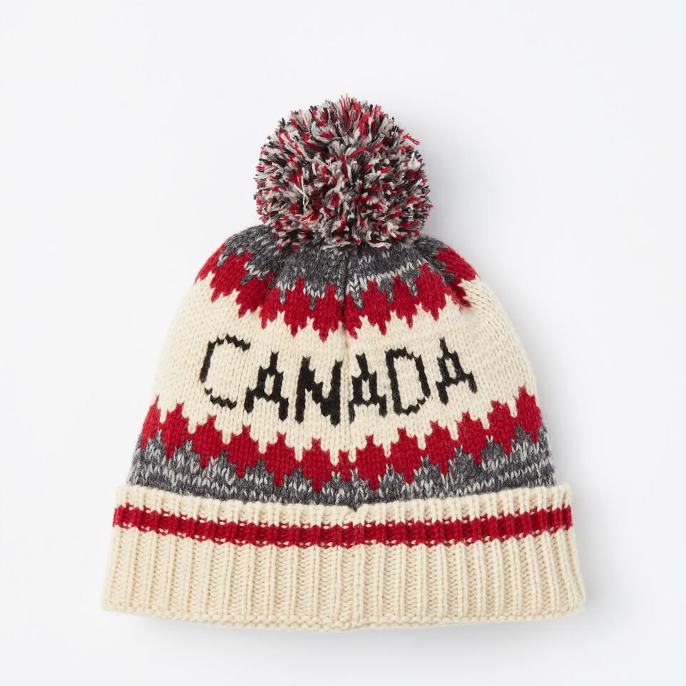 Roots-undefined-Roots Cabin Pom Pom Toque-undefined-C
